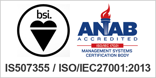 IS507355 / ISO27001 : 2005